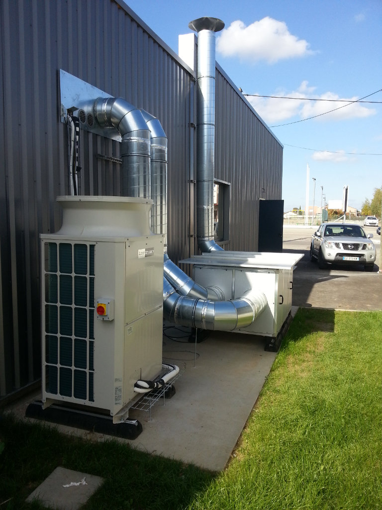 Laboratoire d'analyse Oriade-Noviale, Climatisation, Ventilation, Sanitaires