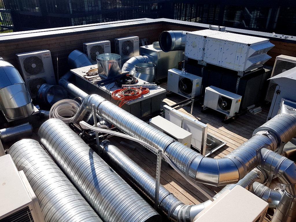 Médipole, Climatisation, Ventilation, Sanitaires, Extraction et environnement médical