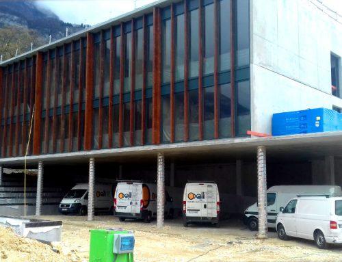 Agrandissement de l'école primaire de Méry en Savoie (73)