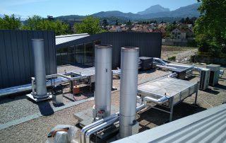 Crématorium de Chambéry, Climatisation, Ventillation, Extraction, Sanitaires