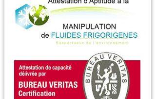 Manipulation de fluide frigorigène